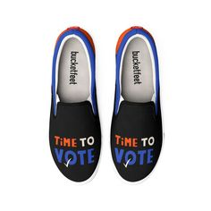 Time to vote | Gabi Toma's Artist Shop Lower Case Letters, Vans, Slip On, Lettering, Classic, Sneakers, Artist, Quotes, Shopping