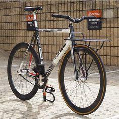 """messenger bike Repost @beastftw - - Www.fixedholiday.com - - #Trackbike #vsco…"