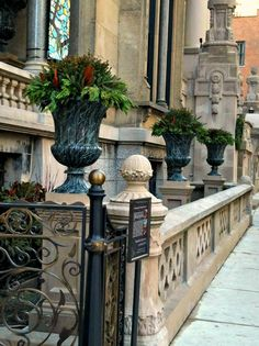 Replication of cast iron urns for Driehaus Museum in Chicago, IL