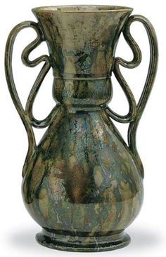 George Ohr ceramic vessel