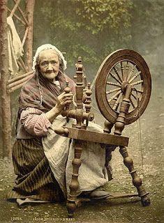 rueda de hilar
