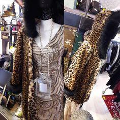 #cappotto #macchiato #leopard #spazioliberofurs  #pausapranzoaperto #passaaciacciare