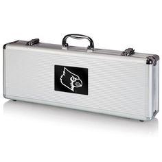 University of Louisville Fiero BBQ Tool Set w/Laser Engraving