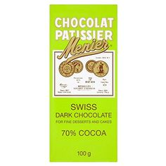 Menier Swiss Dark Cooking Chocolate 100g  Pack of 6 >>> You can find more details by visiting the image link.(This is an Amazon affiliate link and I receive a commission for the sales)