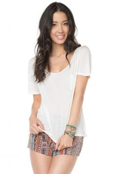 Brandy ♥ Melville | Willa Top - Tops - Clothing