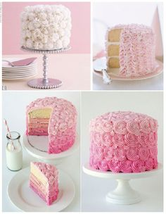 pretty little girl cakes | The Southern Eclectic: Little Miss Munchkin's Big Girl Cake