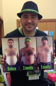 This is your man.  This is your man on my products.  Any questions?  And yes, he became an It Works distributor!  Click join to become one too:)