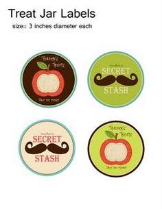 teacher gift - hershey kiss stickers