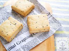 きなこと黒ゴマの米粉スコーン(卵不使用) by わち ようこ | レシピサイト「Nadia | ナディア」プロの料理を無料で検索