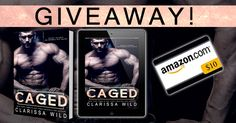 $10 Gift Card & E-ARC of CAGED up for grabs! ENTER HERE ➜ bit.ly/coverrevealcaged MOBILE FRIENDLY LINK ➜ http://gvwy.io/pbeefwi