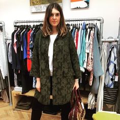 Love this image from @kiticymru featuring @baumundpferdgarten SS16 Lace Coat.  #baumundpferdgarten #kiticymru #instafashion #pontcanna #stockist #fashion #danishfashion