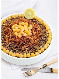 Egyptian food - I miss koshari!