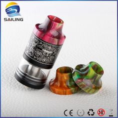 Custom DripTips - Sailing hot selling Epoxy resin drip tips for limitless plus atomizer electronic…