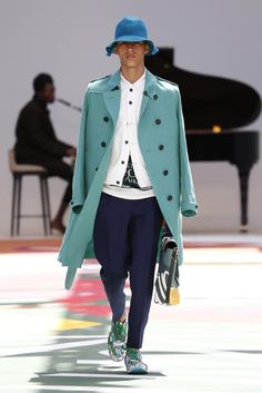 Burberry Prorsum Men's RTW Spring 2015 [Photo by Giovanni Giannoni]