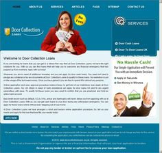Door Collection Loans arrange best loans deal for you. After applying with us you