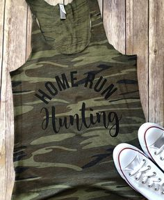 Baseball Mom Tank, Baseball Mom Shirt, Baseball Tank, Baseball Shirt, Country Baseball Mom, Baseball, Camo Tank, Camo Shirt, Home Run Tank