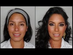 How to Kim Kardashian Make-up Tutorial(its in Spanish, but its a good tutorial)