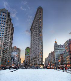 Flatiron Building by Anthony Festa on 500px