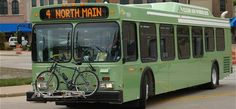 Each GO Transit bus is now equipped with a bike rack. The bike rack program, called Bike N Ride, was established to highlight safe use of this travel option for transit riders. Each bike rack is located at the front of the bus and will hold up to two bikes. There is no additional charge for your bicycle. #Oshkosh #Cycling
