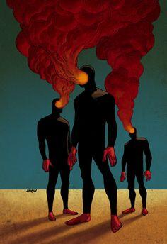 marcedith:  Smoke Men DDSC by `Devilpig