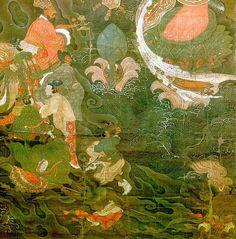 Water-Moon Avalokiteshvara, 1323. Unknown Artist.