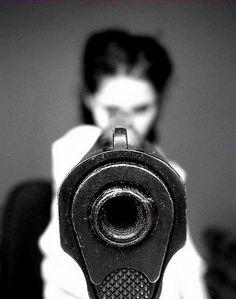 have a good aim like annie oakley