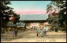 Tokyo Imperial Museum 手彩色絵葉書東京上野帝国博物館明治期