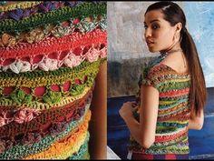 #21 Ballet-Neck Tee, Vogue Knitting Crochet 2014