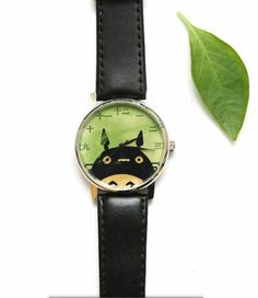 Studio Ghibli Gifts: My Neighbour Totoro Watch Back In The 90s, Studio Ghibli Art, My Neighbor Totoro, Princess Mononoke, Hayao Miyazaki, Novelty Items, Beautiful Watches, Classic Movies, Cool Watches