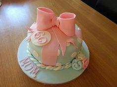 60th birthday cake :-) Birthday Cake For Mum, 60 Birthday, 60th Birthday Cakes, Fabulous Birthday, Birthday Ideas, Cupcake Cookies, Cupcakes, Mom Cake, Occasion Cakes