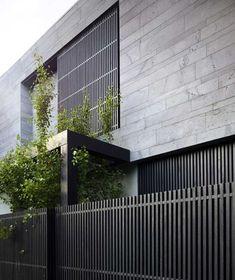 Architecture Durable, Facade Architecture, Residential Architecture, Facade Design, Fence Design, Exterior Design, Cladding Design, House Cladding, Exterior Cladding