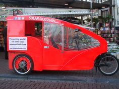solar energy tuktuk/riksja