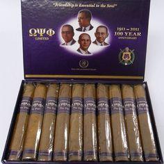 Omega Psi Phi cigars
