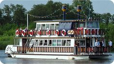 Southern Comfort Paddle Boat - Horning