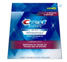 Crest Coupon: Score $5 Off Crest 3D Glamorous Whitestrips Score $5 off Crest 3DWhite Glamorous White Whitestrips 14 count treatment with our Crest coupon.