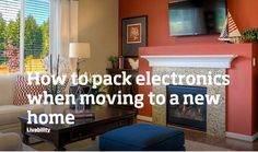 Moving into a new home is exciting but packing can be a little complicated. Here are a few tips on how to pack electronics when moving into a new home. Buying A New Home, Door Opener, Household Tips, New Homes, Traveling, Packing, Doors, Electronics, Home Decor