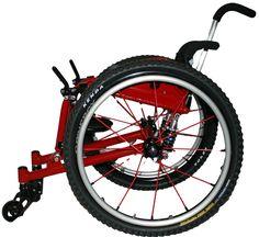 Box Trail Bomber Offroad (Handbewogen Off-Road rolstoel Manual Off-Road Wheelchair)
