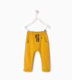 Trousers with knee patch-Trousers-Baby boy (3 months - 3 years)-KIDS | ZARA United States