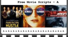 Learn from the masters and enjoy our selection of award / famous free movie scripts with links to trailers, IMDB and screenwriting articles. Film Script, American Hustle, Movie Scripts, Screenwriting, Thriller, Mirrored Sunglasses, Films, Movies, Free