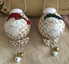 Palle Babbo Natale  (cart. Country Creations di Federica)