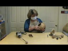 How to clean the inside of your Gourd ~ Featuring Miriam Joy - YouTube