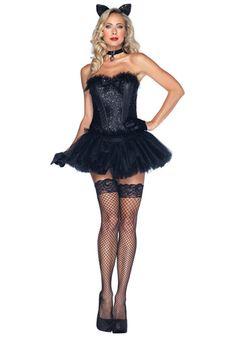 Black Cat Babe Costume