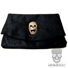 Bolsa envelope maxi skull - Miniminou