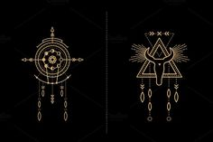 Mandala Set - Tribal Shaman - Illustrations - 4