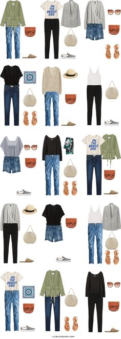 What to Pack for New Orleans Packing Light List Outfit Options | What to pack for New Orleans | What to Pack for summer | Packing Light | Packing List | Travel Light | Travel Wardrobe | Travel Capsule | Capsule |