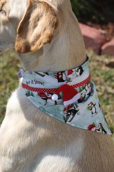 Christmas Dog Bandana by KonaKrafts on Etsy