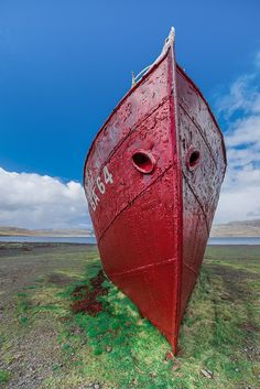 Old fishing boat - Westfjords-Iceland by NadiaMichnikPictures on Etsy Fishing Boats, Iceland, Shops, Community, Unique Jewelry, Places, Stuff To Buy, Etsy, Vintage