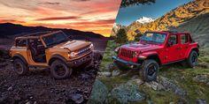 It's Bronco vs. Wrangler New Bronco, Bronco Ii, Bronco Sports, Early Bronco, Jeep Wrangler Rubicon, Wrangler Unlimited, Ford Bronco Concept, Small Pickups, Chevy Trailblazer