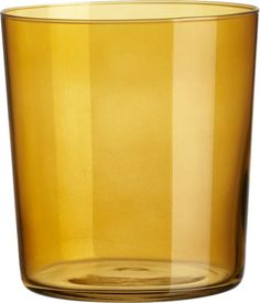 marta amber double old-fashioned glass | CB2