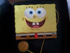 Spongebob squarepants laptop